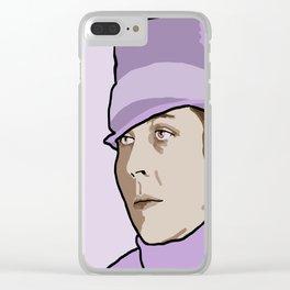 Djuna Barnes Clear iPhone Case