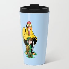 The Legend of Ernie (light background) Travel Mug