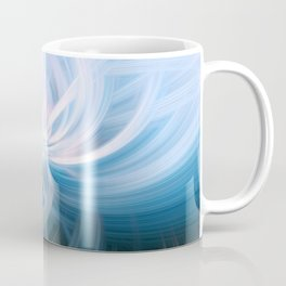Blue Surf Swirl Blend Coffee Mug
