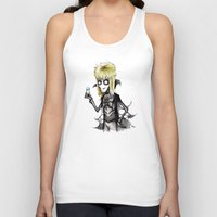 tim burton Tank Tops featuring Burton Labyrinth by Ludwig Van Bacon
