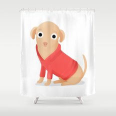 Walter the Chi Shower Curtain