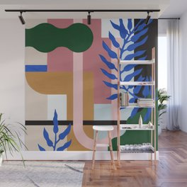 Leather Fern | Painting Wall Mural