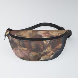 Abraham Solomon - And at first meeting loved (1855) Fanny Pack