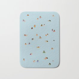 Dusty blue II Bath Mat