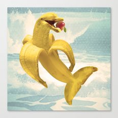 Fruit Fish Canvas Print
