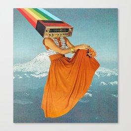 Octave Orange Canvas Print