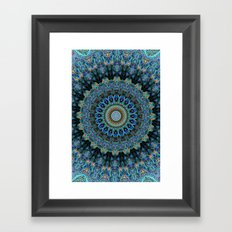 Spiral Eye Framed Art Print