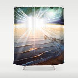 Above Us...One Sun... Shower Curtain