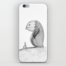 lost giant iPhone Skin