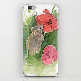 Fieldmouse iPhone Skin