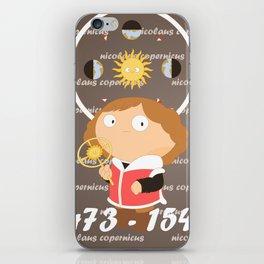 Nicolaus Copernicus iPhone Skin