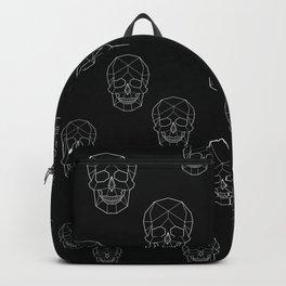 Skull Aesthetics Pattern Backpack