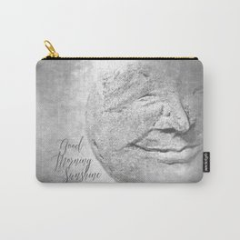 Good Morning Sunshine B&W Carry-All Pouch