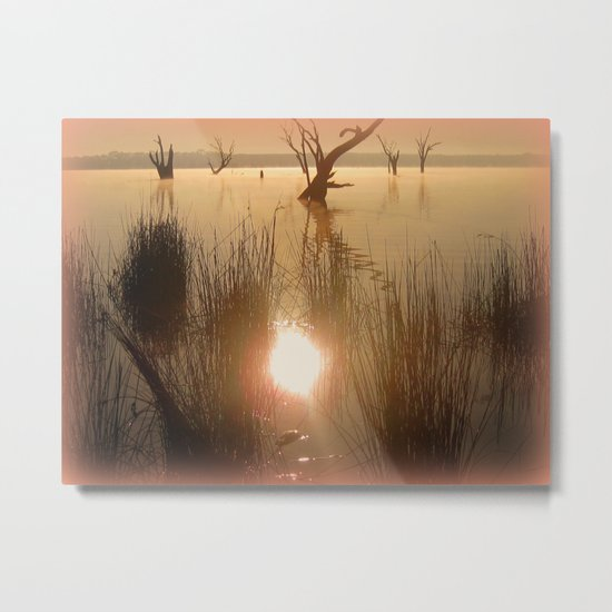 We all shine On! Metal Print
