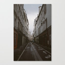 The Act of Flâneur Canvas Print