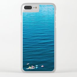 Paddlers Clear iPhone Case
