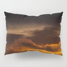 Orange Sunset Pillow Sham