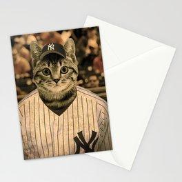 Baseball Cat Stationery Cards