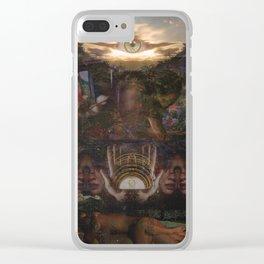 I = 1 Clear iPhone Case