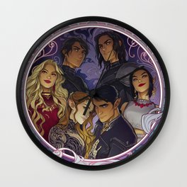 The Inner Circle Wall Clock