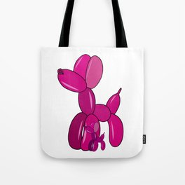 Pink Balloons Dogs Tote Bag