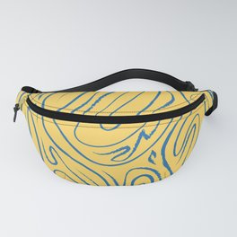There's Always Gold Through Life's Pathways Fanny Pack