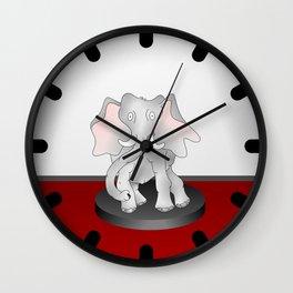 The Elephant Factor Wall Clock