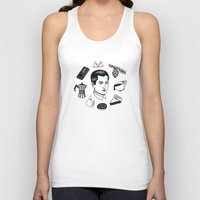 dale cooper Tank Tops featuring dale cooper collage by Bunny Miele