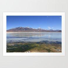 Bolivian Salt Flats Art Print