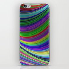 Color curves iPhone & iPod Skin