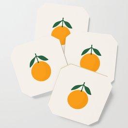 Orange Summer Citrus Coaster