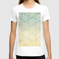 escher T-shirts featuring escher pattern by Vin Zzep