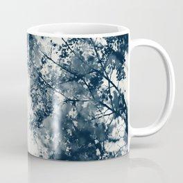 Blue Leaves #2 Coffee Mug