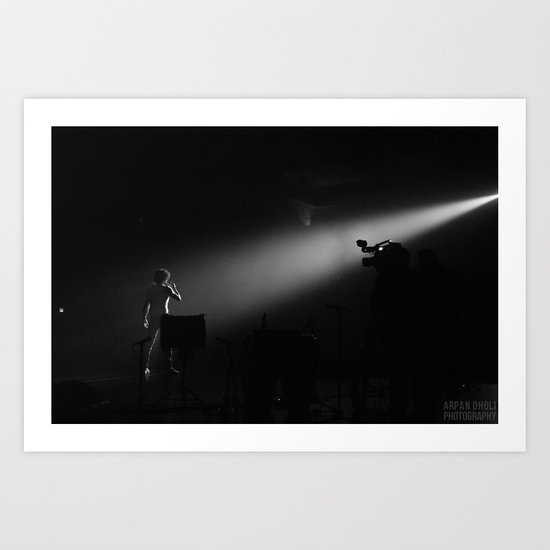 The showman  Art Print