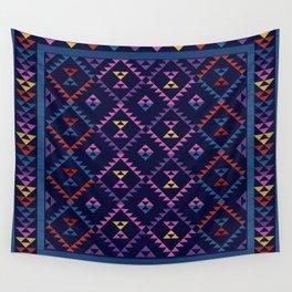 Bohemian Kilim Ethnic Pattern 1 Wall Tapestry