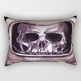 Space Skeleton  Rectangular Pillow