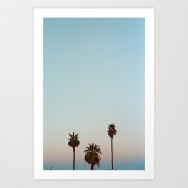the neighborhood Art Print
