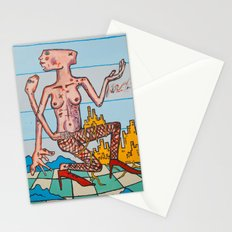 'City Gal' Painting by Amos Duggan Stationery Cards