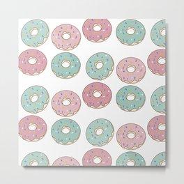 Donuts II Metal Print