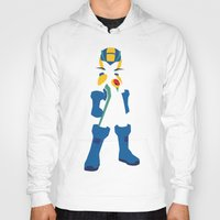 megaman Hoodies featuring Megaman EXE by JHTY