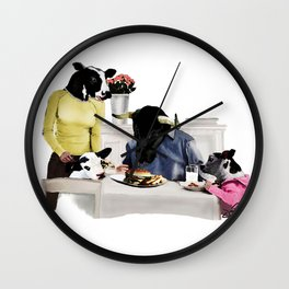 You Are Who You Eat! #2 Wall Clock