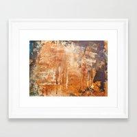 war Framed Art Prints featuring War by Roquito