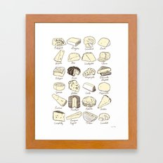 Cheeses is Love Framed Art Print