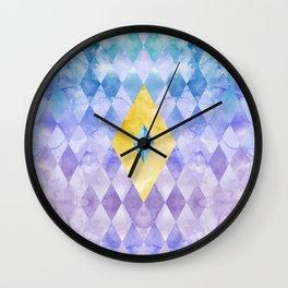 Fi Geometry Wall Clock