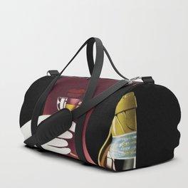 1950 Linherr Vermouth Bianco Aperitif Vintage Poster by arthur Ziegler Duffle Bag