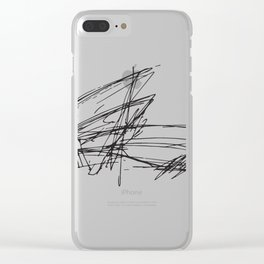 Gehry Doesn't Sketch to Scale Clear iPhone Case
