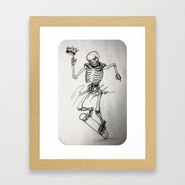 AUTOGRAPHED MULLEN Framed Art Print