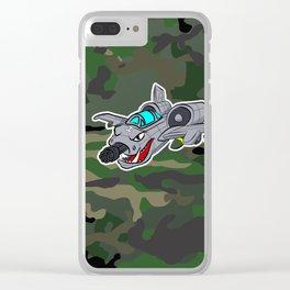 Flying Warthog Clear iPhone Case