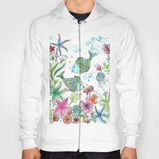 2 fishes Hoody
