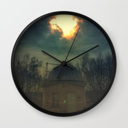 little old observatory Wall Clock
